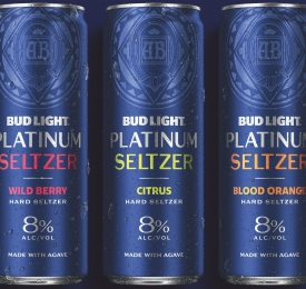 Bud Light Platinum Seltzer Cans